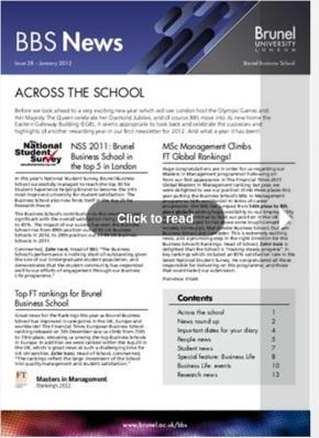 BBS Newsletter