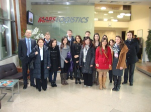 Mars Logistics Group Visit