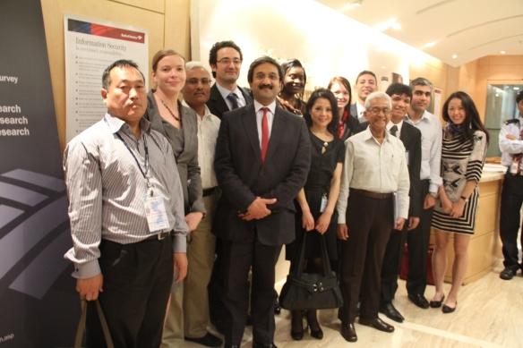 Brunel MBA Students at Merrill Lynch