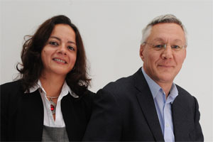 Prof Neil Anderson and Dr Ana Cristina Costa