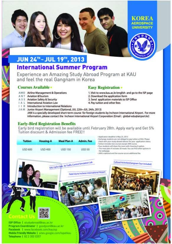 2013 KAU Summer Programme