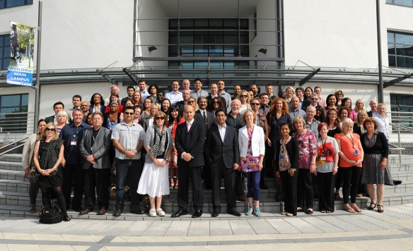 Brunel Business School Staff Members on a recent Staff Day