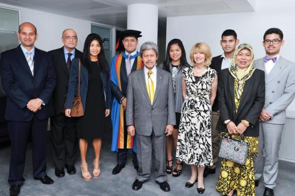 Royal Brunei family