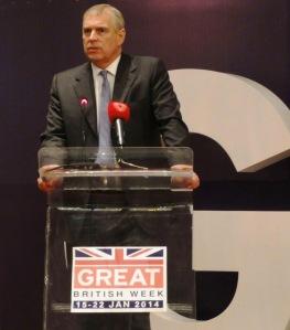 Duke of York in Bahrain