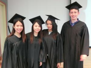 Brunel students at KAU