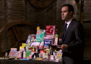 Deepak Tailor in the Dragons Den