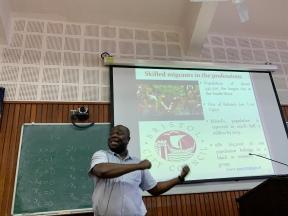 presentation by David